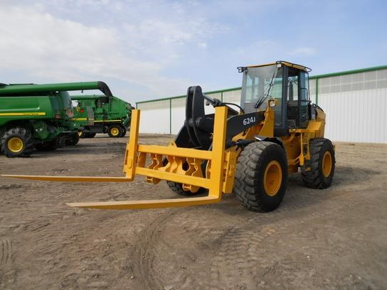 2005 John Deere 624J Wheel Loader For Sale