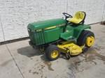 Riding Mower For Sale: 1985 John Deere 430, 20 HP