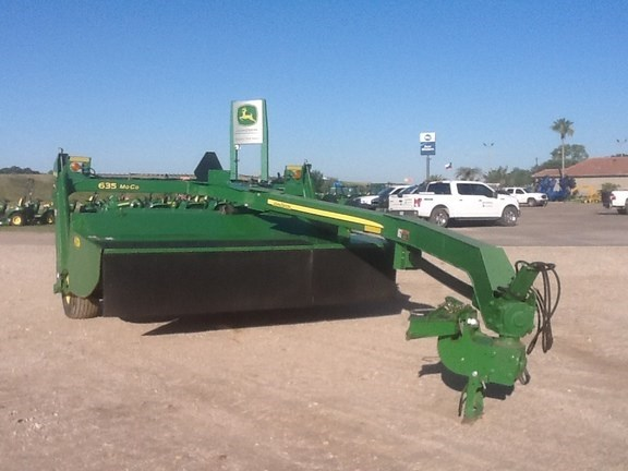 2014 John Deere 635 Mower Conditioner For Sale