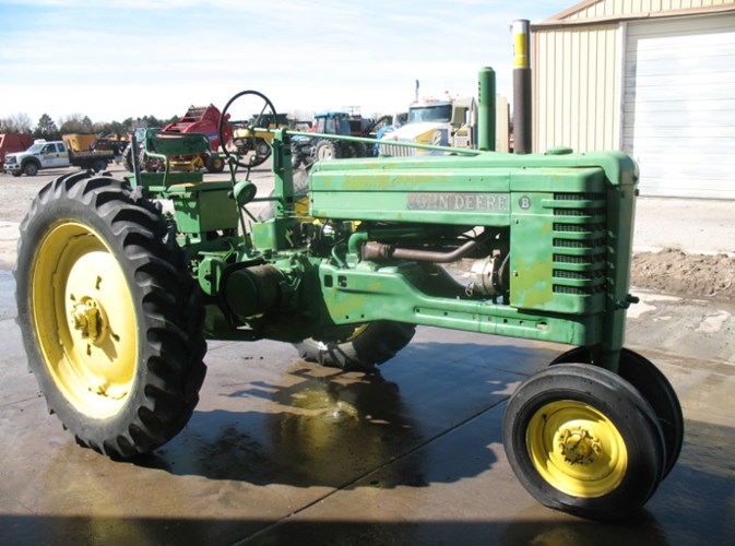 1951 John Deere B Tractor For Sale