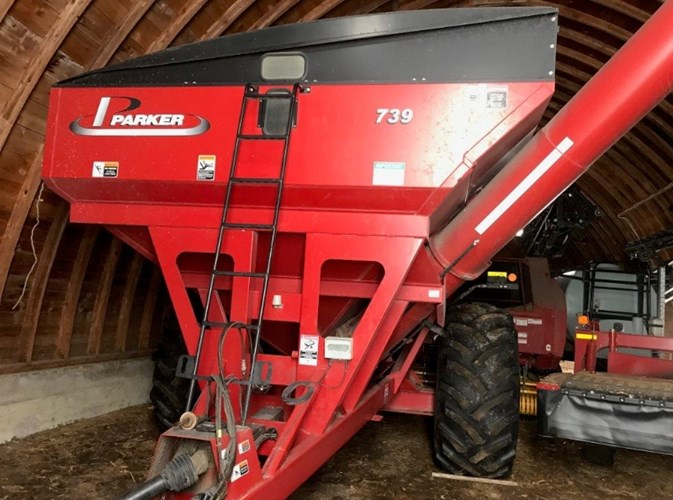 2012 Parker 739 Grain Cart For Sale