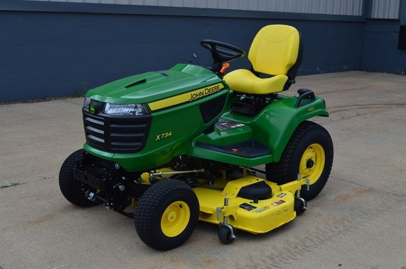 2017 John Deere X734 Riding Mower For Sale