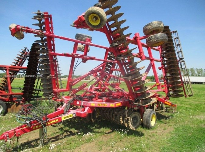 2011 Sunflower 6630 Vertical Tillage For Sale