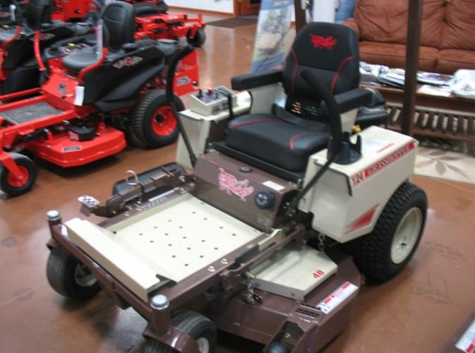 2018 Grasshopper 124V Zero Turn Mower For Sale
