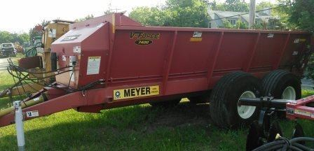 2012 Meyer SV7400T Manure Separator For Sale