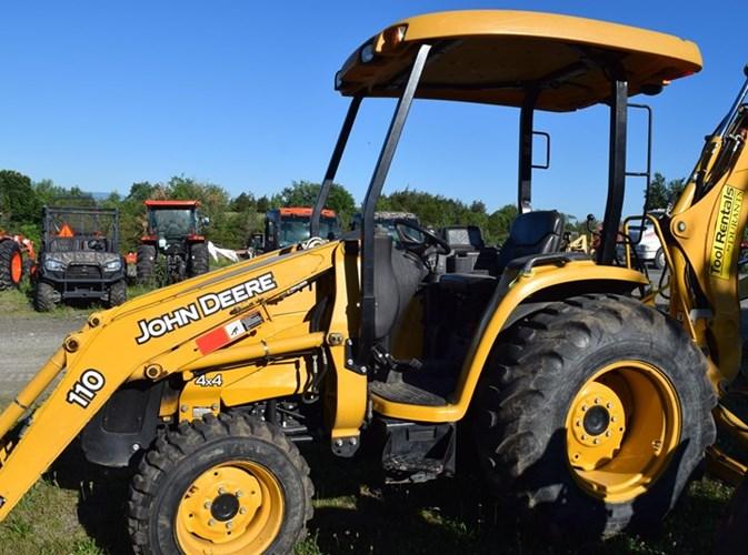 2011 John Deere 110 Tractor For Sale
