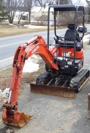 2014 Kubota U17VR1 Excavator-Track For Sale