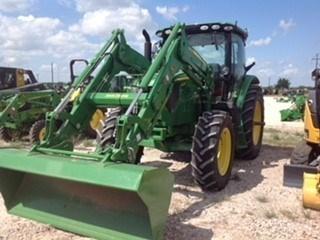 2015 John Deere 6130R Cab Tractor For Sale