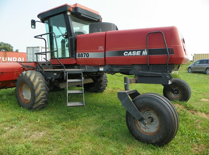 Case IH 8870 Windrower For Sale