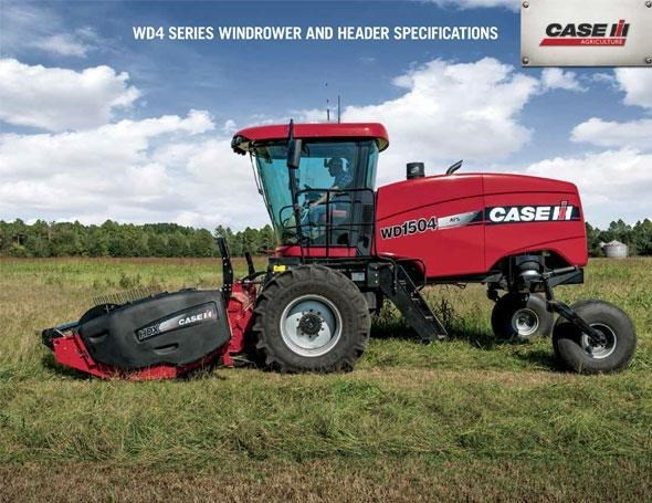 Case IH WD1504 Windrower For Sale