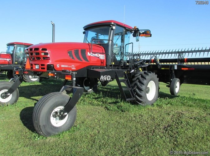 MacDon M155E4 Windrower For Sale