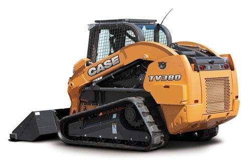 Case TV380-T4F Crawler Loader For Sale