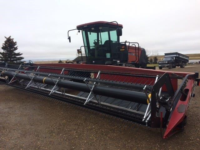 2007 Case IH WDX1202 Windrower For Sale