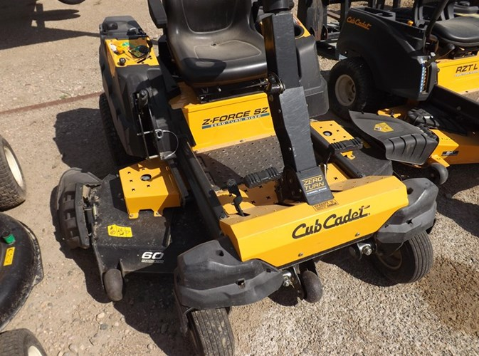 2014 Cub Cadet Z Force 60 Riding Mower For Sale