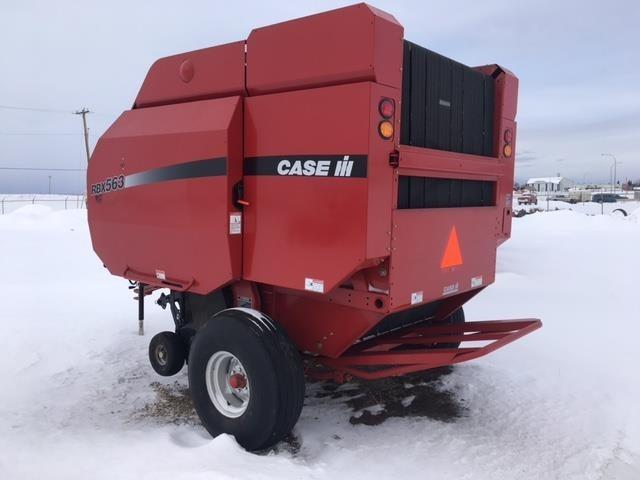 2007 Case IH RBX563 Baler-Round For Sale