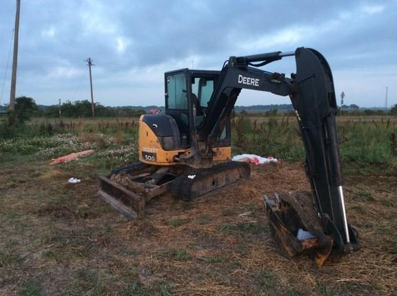2007 John Deere 50G Excavator-Mini For Sale » Shoppa's Farm