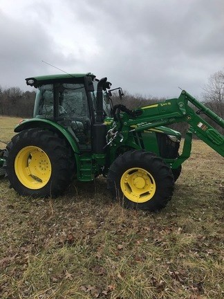 2017 John Deere 5100R Tractor For Sale