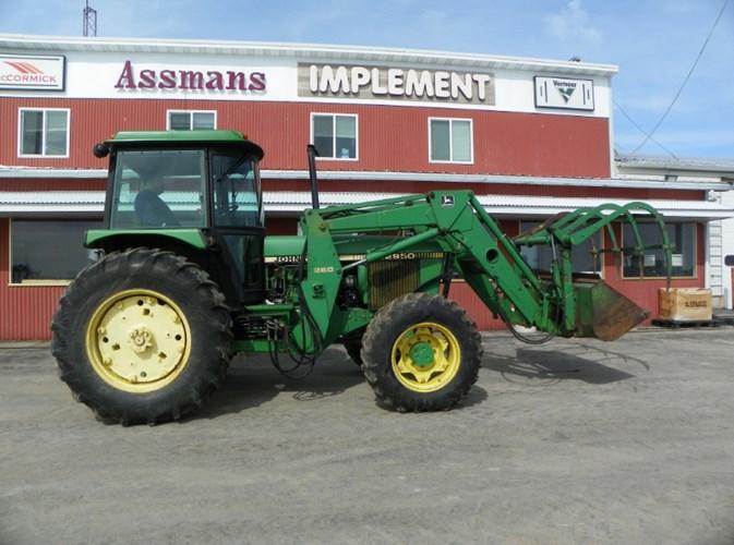 John Deere 2950 Tractor For Sale