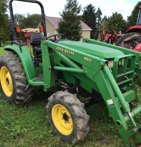 John Deere 4600 Tractor - Compact For Sale