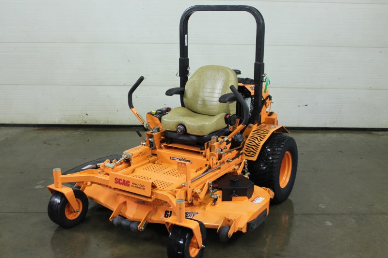 2018 Scag Sttii 61v 26dfi Zero Turn Mower For Sale