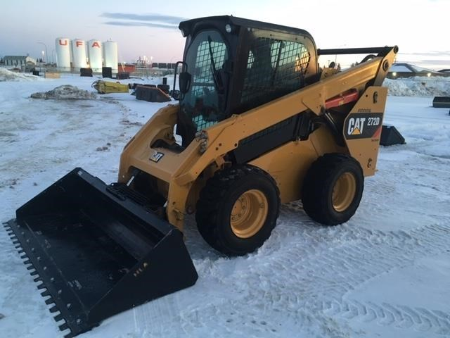 2014 Caterpillar 272D Skid Steer For Sale