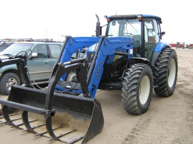 2008 New Holland T6050 Delta Tractor For Sale