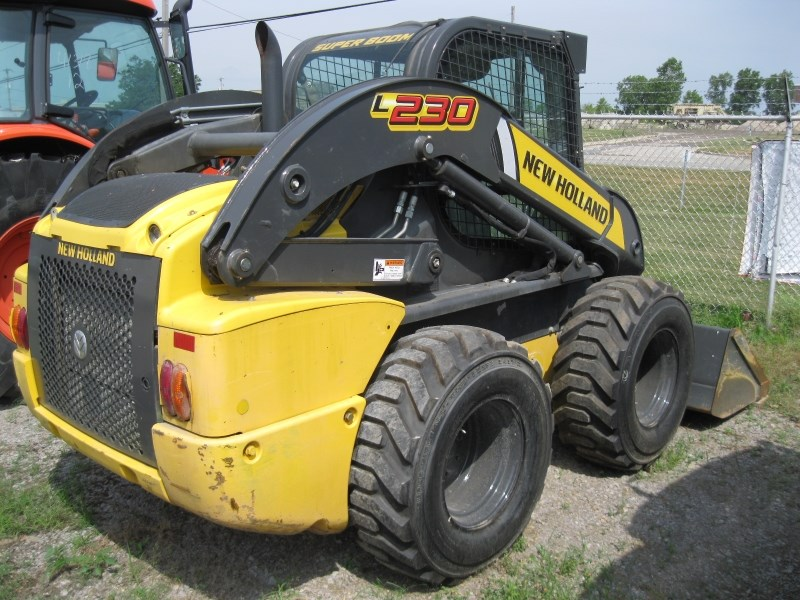 2014 New Holland L230 Skid Steer For Sale 187 Flint New