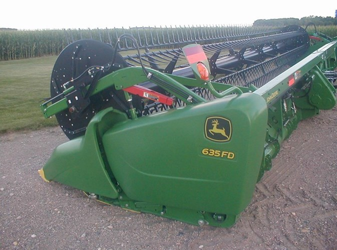 2018 John Deere 635FD Header For Sale