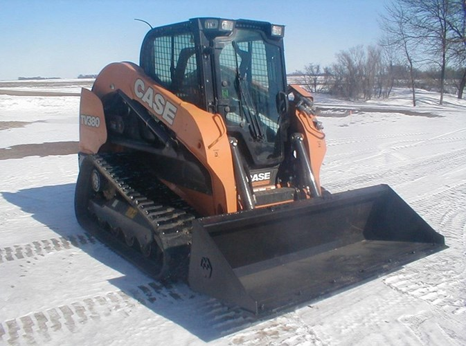 2017 Case TV380-T4F Skid Steer For Sale