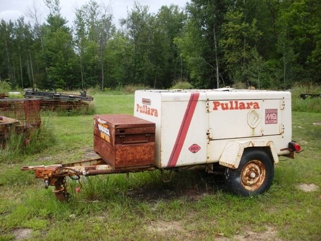 1984 Multiquip DPS180SS Air Compressor For Sale