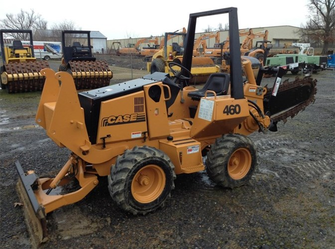 2004 Astec RT460 Trencher-Rubber Tires For Sale