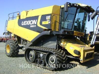 2009 Lexion 585R Image 1