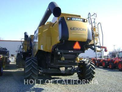 2009 Lexion 585R Image 4