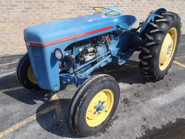 1950 Massey Ferguson TO20 Tractor For Sale