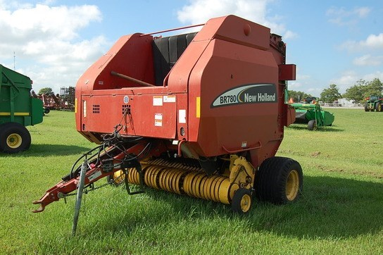 New Holland BR780 Baler-Round For Sale