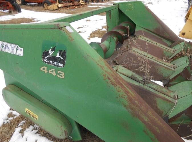 John Deere 443 Header-Row Crop For Sale