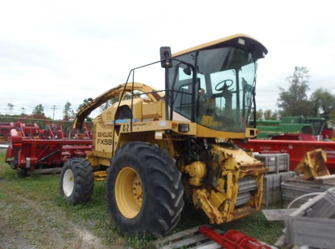 2000 New Holland FX58 Forage Harvester-Self Propelled For Sale
