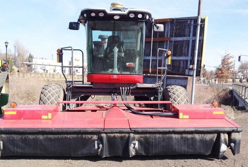 2011 Massey Ferguson WR9770 Mower Conditioner For Sale