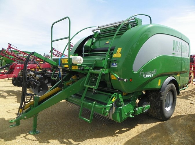 2020 McHale FUSION 3 PLUS Baler-Round For Sale