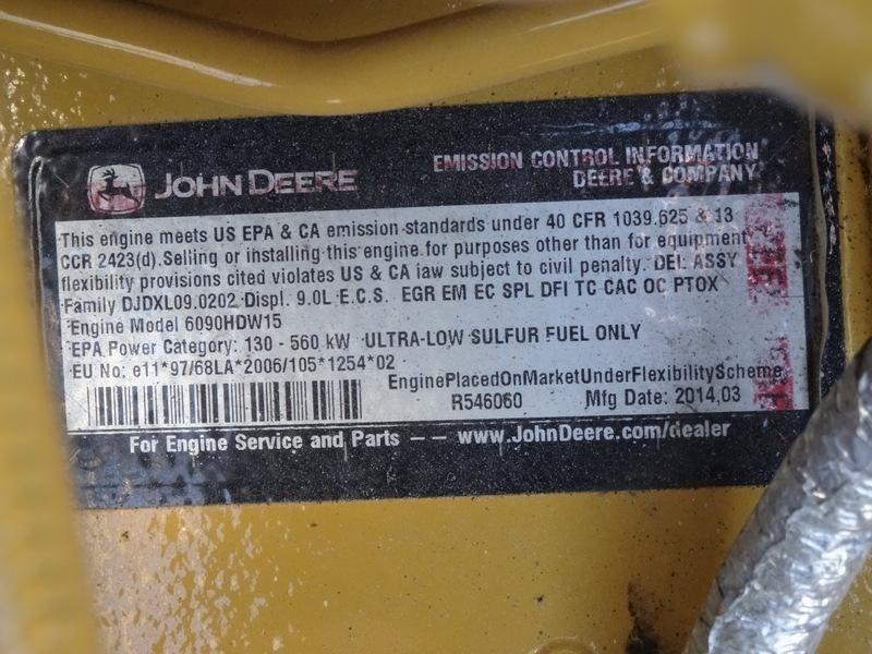 2014 John Deere 300D II Image 29