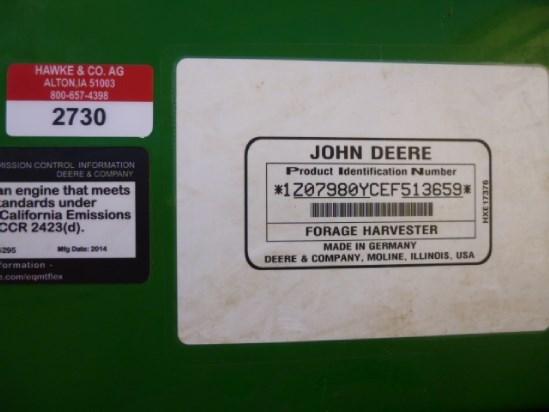 2014 John Deere 7980 Image 6