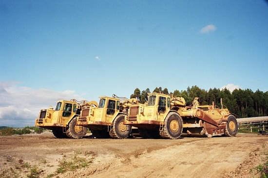 1986 Caterpillar 637E AUGER Image 7