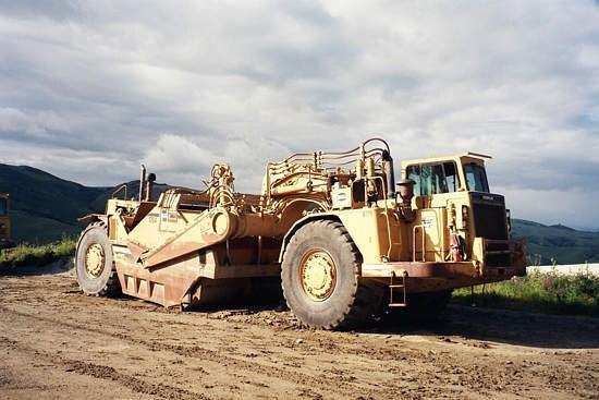 1990 Caterpillar 637E AUGER Image 2