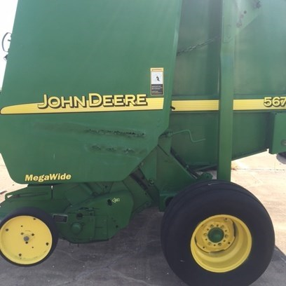 2003 John Deere 567 Baler-Round For Sale