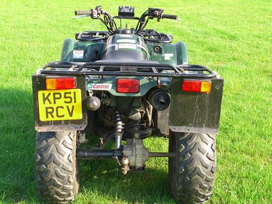 2001 Yamaha Kodiak 400 Image 4