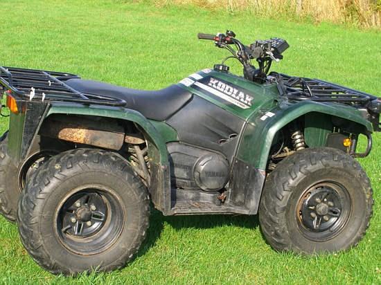 2001 Yamaha Kodiak 400 Image 6