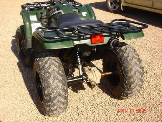 2001 Yamaha Kodiak 400 Image 7