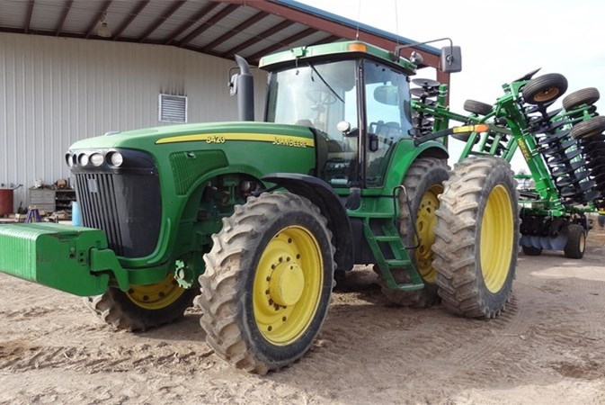 2002 John Deere 8420 Tractor For Sale