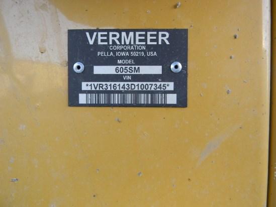2013 Vermeer 605SM Image 2