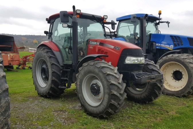 2012 Case IH Maxxum 125 Tractor For Sale